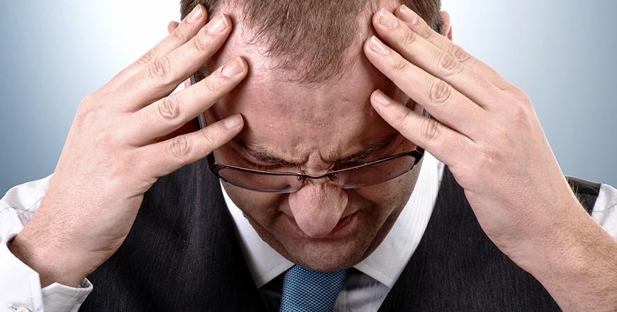 Stress på grund af uoverskuelig gæld